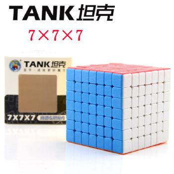 ShengShou Tank 7x7x7 Magic Cube 7x7 Cubo Magico Professional Neo Speed Cube Puzzle Antistress Toys For Children