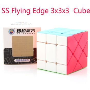 ShengShou sengso Flying Edge 3x3x3 Magic Cube 3x3 Cubo Magico Professional Neo Speed Cube Puzzle Antistress Toys For Children